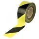 Лента оградительная желто-черная  (75* 250м, 50мКр)