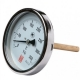 Термометр ТБ-100 Ду 100 мм, G 1/2, 160 гр, L-40мм, осевое подключение МЕТЕР