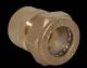 Муфта Lavita д/нерж.V/S(F) 40*11/2 никель