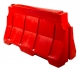 Дорожный блок водоналивной (150*8*81) красный