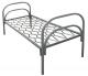 Кровать односпальная металлическая (700х1900)