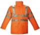 Куртка сигнальная, orange, р. XL